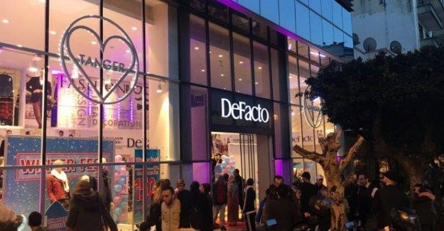DeFacto, Fas'ta mağaza açtı
