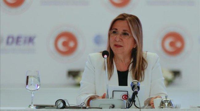 Ticaret Bakanı Pekcan, Türkmenistan Bakanlar Kurulu Başkan Yardımcısı Gilicov'la görüştü